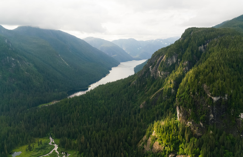 Flightseeing Misty Fjord National Park, Alaska
