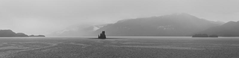 New Eddystone Rock, Misty Fjords, Alaska