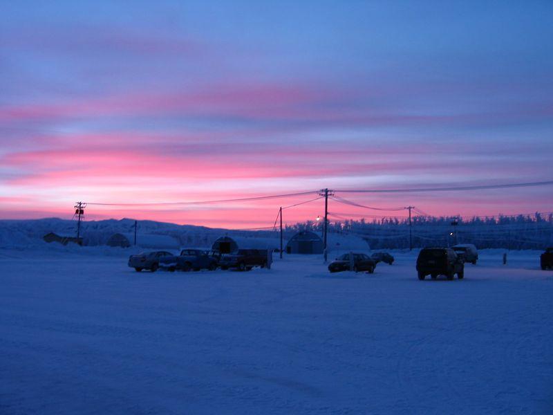 5 January 2004 sunrise.