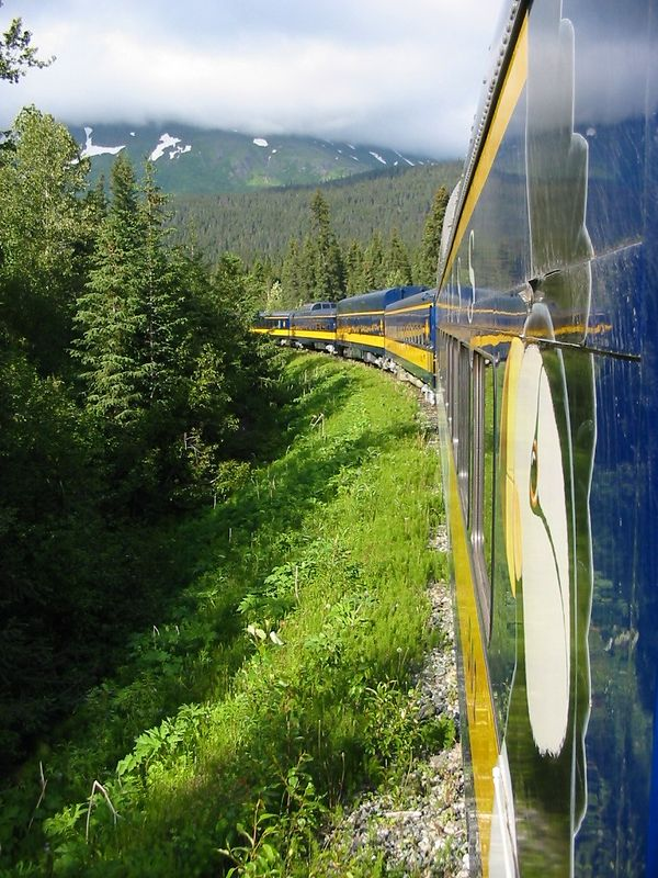 Along the rail to Seward.
