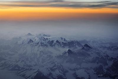 Alaska seen from the air.