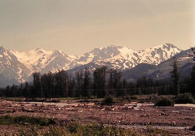 Granite Creek, mile 65 Seward Hwy, Alaska, july