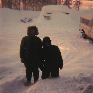 North Pole, Alaska, Jan1971, temp - 60 F!