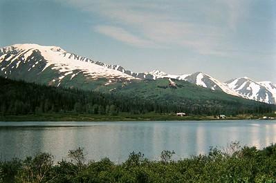 Summit Lake, Kenai Pen , Alaska, july 1971