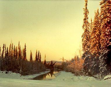 near North Pole, Alaska, november