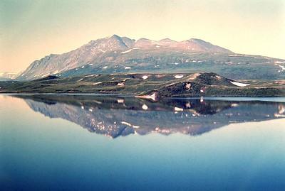 Tangle Lakes, Alaska, july 1971