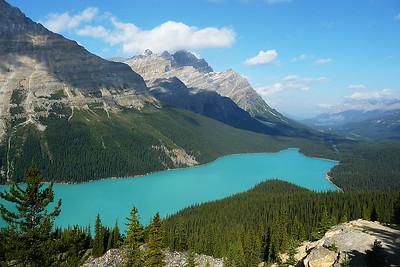 Peyto Lake, Banff N.P., Alberta, Ca