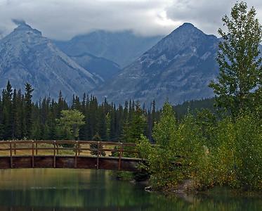 Cascade Pond, Banff National Park, Alberta