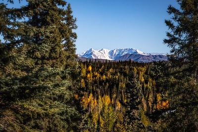 Alaska seen from the Alaska Railway