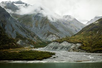 View in Glacier Bay, Alaska