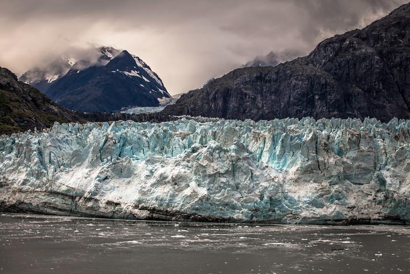 Margerie Glacier in Glacier Bay National Park, Alaska