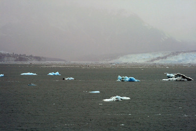 Hubbard and Valerie Glaciers in Disenchantment Bay, Alaska
