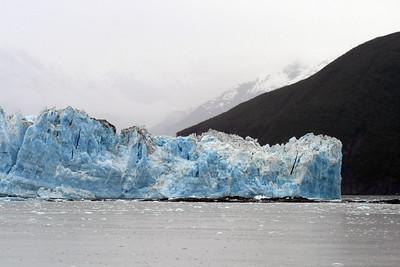Hubbard Glacier in Disenchantment Bay, Alaska