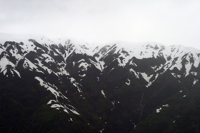 Mountains in Disenchantment Bay, Alaska