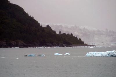 Valerie Glacier in Disenchantment Bay, Alaska