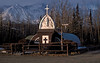 Our Lady of the Way church in Haines Junction.<br /> Photo © Carl Clark