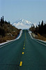 The Glen Highway points to Mt Drum.<br /> Photo © Carl Clark