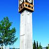 Town Clock in Fairbanks Alaska