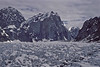 Sheer walls of Mt Bradley and Mt Dickey - Alaska Range.<br /> Photo © Carl Clark