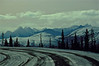 Yukon Highway at Chilkat Pass in October.<br /> Photo © Carl Clark