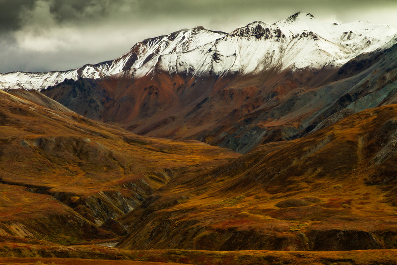 Nothing can compare to the grandeur of  this place.  This was taken in Denali National Park.<br /> Photo © Cindy Clark