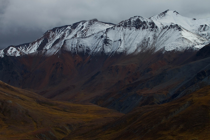 Astonishing color and grandeur - Denali National Park.<br /> Photo © Cindy Clark