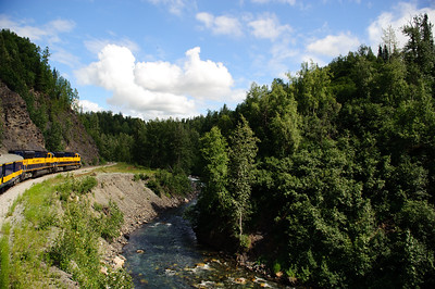 TRAIN TO DENALI STATE PARK