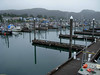 Cordova harbor under gray August skies.<br /> Photo © Carl Clark