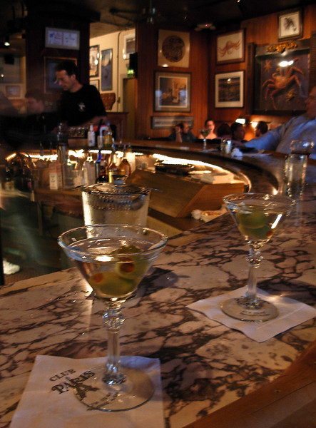 When in Anchorage . . . Another fine evening begins at Club Paris.<br /> Photo © Cindy Clark
