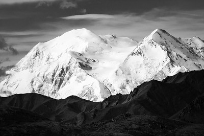 DENALI IN GRAYSCALE