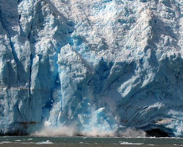 Aialik Glacier Calving, Fjords N.P. Ak