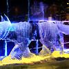 Ice Sculpture in Fairbanks Ice Museum in Alaska