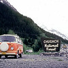 Anchorage to Seward highway pulloff. This is our 1979 VW van, which we brought up from the lower 48 when we moved to Alaska in 1981,
