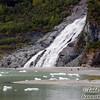 Nugget Falls near Mendenhall Glacier. Juneau, Alaska