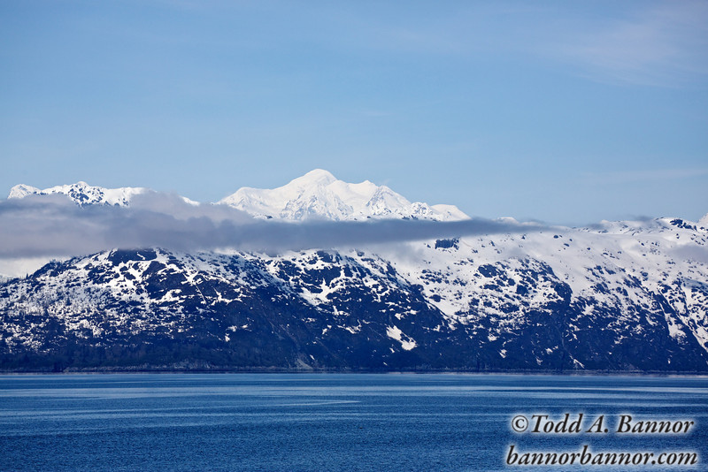 15,325 foot Mount Fairweather from Glacier Bay.