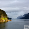 Morning on Sitkoh Bay, southeast Alaska.