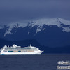 Radiance of the Seas cruise ship, Chatham Strait. Southeast Alaska