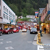 Downtown Juneau on a Saturday night.