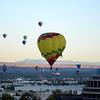 First Balloons Up at the Albuquerque Balloon Fiesta