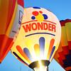 Wonder Bread Balloon is Ready for Night Glow at the Albuquerque Balloon Fiesta
