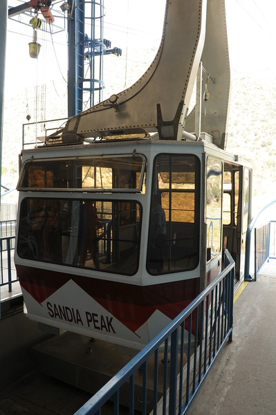 TOOK A TRAM RIDE TO THE TOP OF MOUNT SANDIA.....