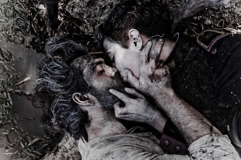 "Alexander Ebert and Roehm: ""The Kiss"" <br /> Still from Truth video shoot in Tulum, Mexico"