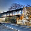 Railway bridge<br /> 5 exposures Canon 18mm f/11 ISO 100