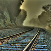 Sunol Railway in the mist<br /> 5 exposures Canon 18mm f/11 ISO 100