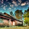 Abandoned Log Cabin (Remastered using Nik Software)