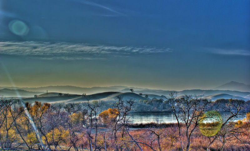 Marsh Creek<br /> 5 exposures Canon 18mm f/11 ISO 100