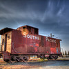 Southern Pacific Train car<br /> 5 exposures Canon 18mm f/11 ISO 100