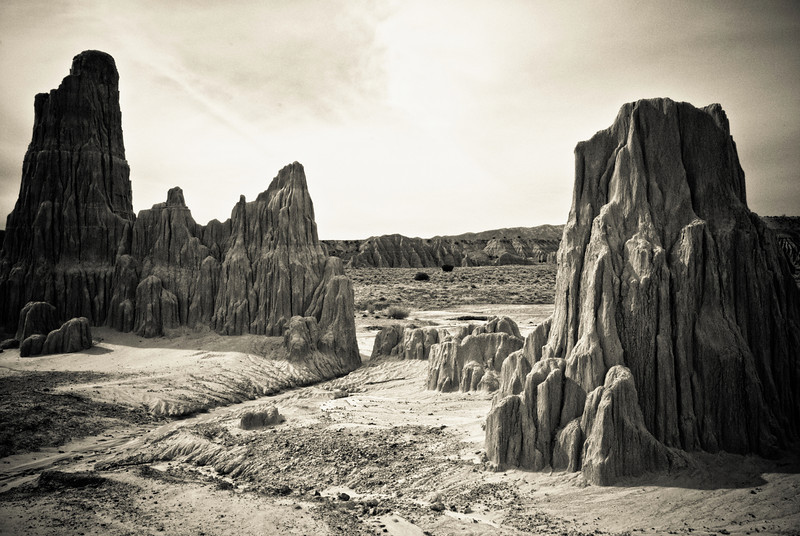 Another landscape in Cathedral Gorge.