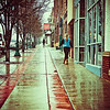 Early Wet Spring Morning in Cedar City, Utah
