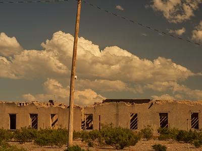 Ruins in Presidio, Texas
